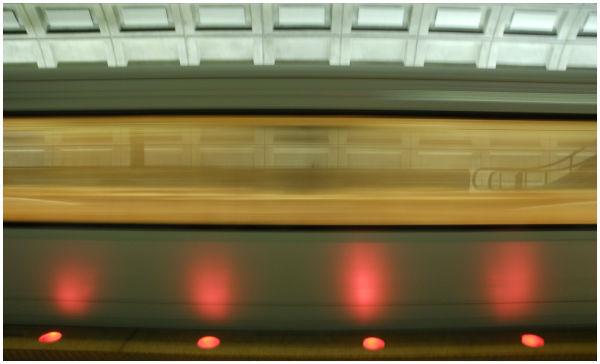 Metro passing by