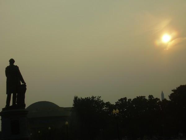 Yet another sunset - in Washington