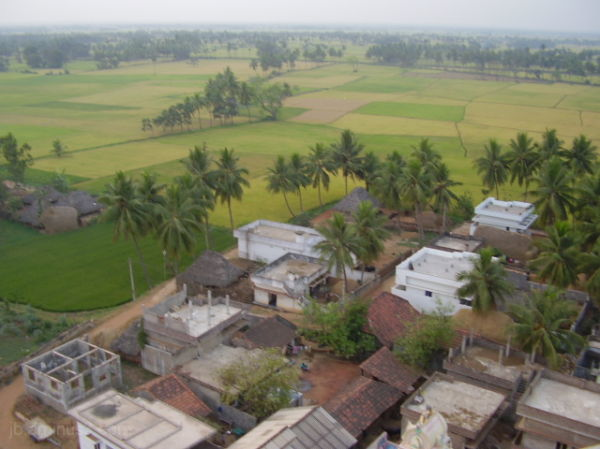 An Indian Village (JB Yeturi)