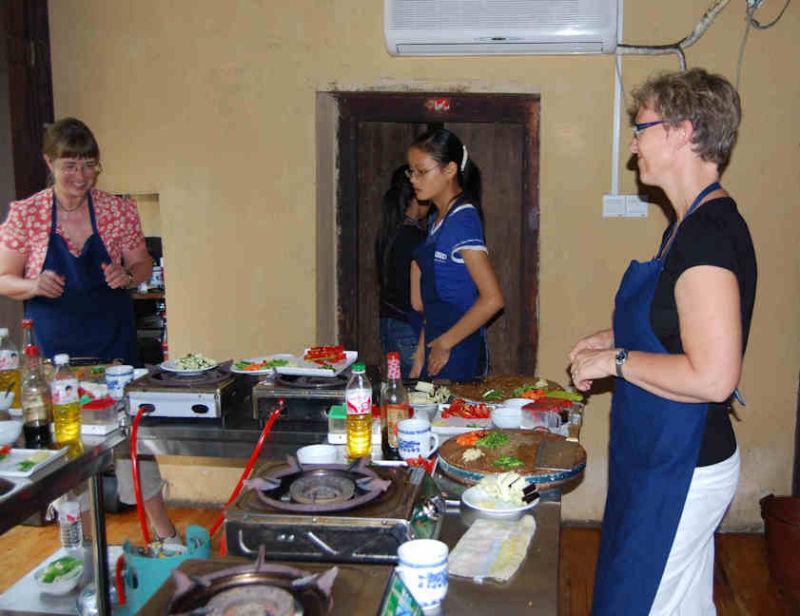 Kinesisk matlagningskurs