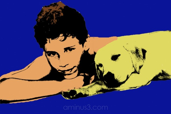 Pop Art Puppy Love