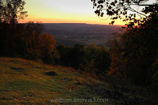 Sunset 10_24_09