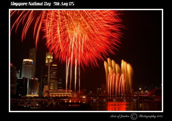 2005 National Day Fireworks