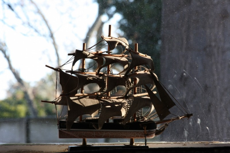 Ship by the window