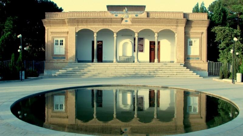 Zoroastrian Fire Temple located in Yazd,Iran.