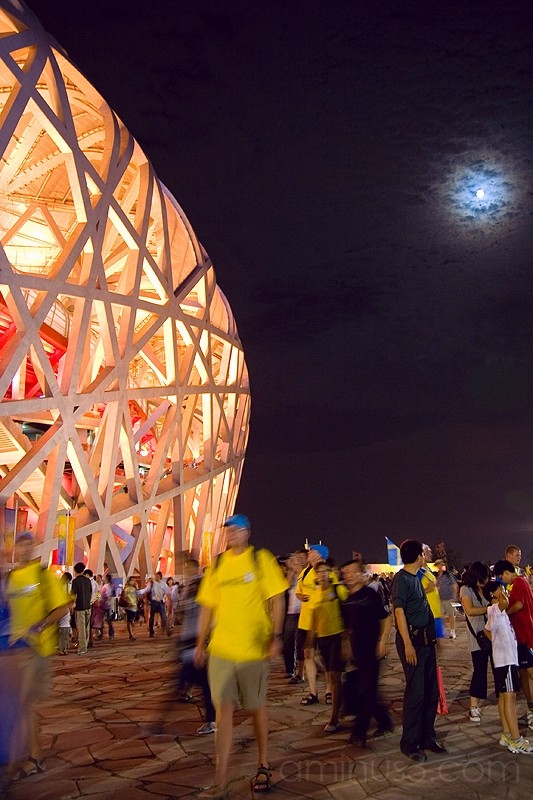 Beijing Bird's Nest by night