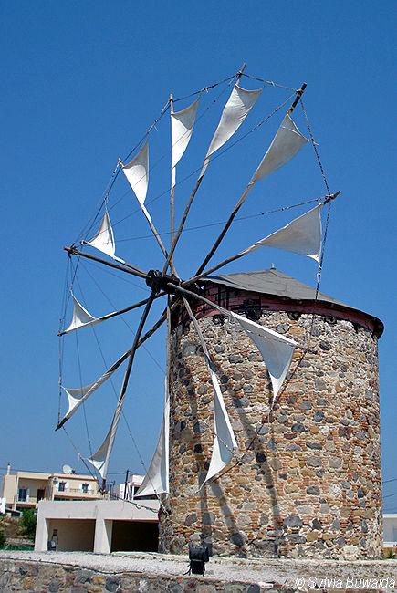 Old mill - Kos, Greece