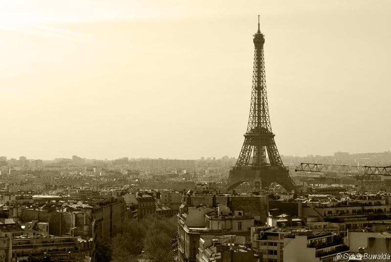 View over Paris - Paris, France (1/2)