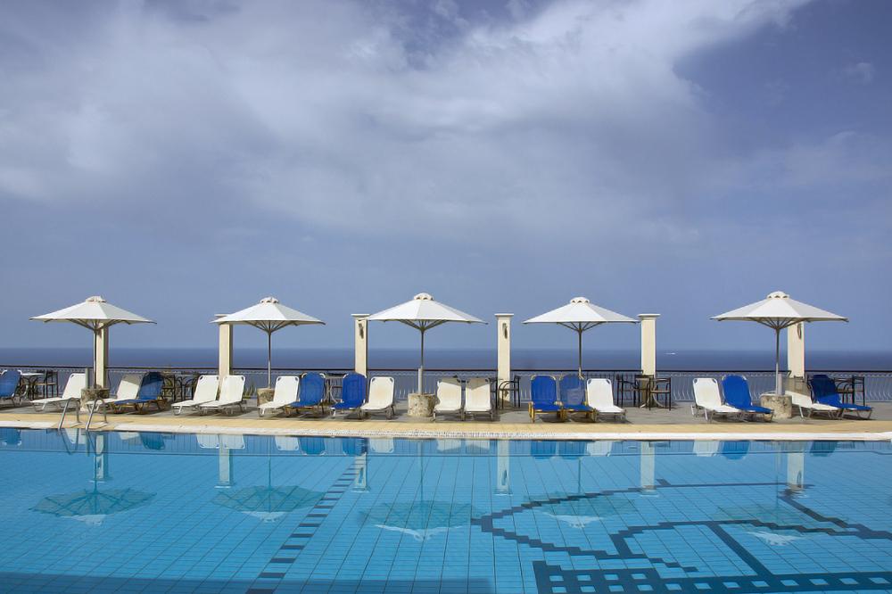 Pool, Kefelonia, Greece