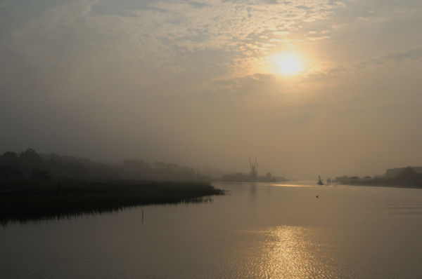 Intercoastal Waterway Sunrise.