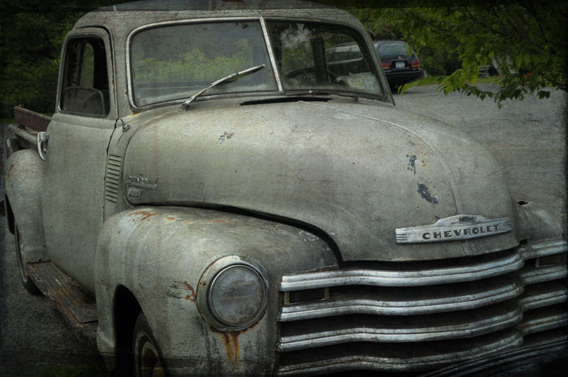 Old Chevy Pickup Truck....testing textures 1 of 2