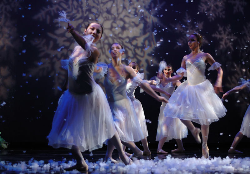 Snowflakes at the Ballet