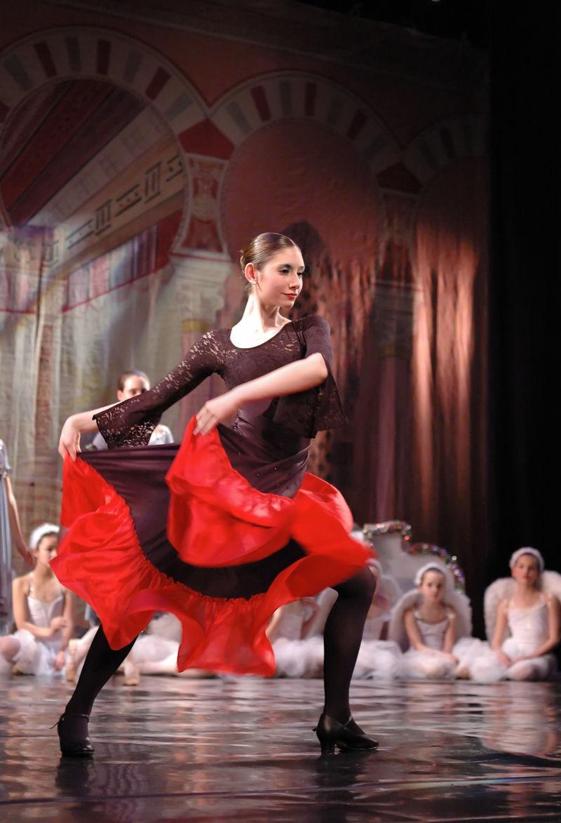 Spanish Dancer at Ballet 1 of 2