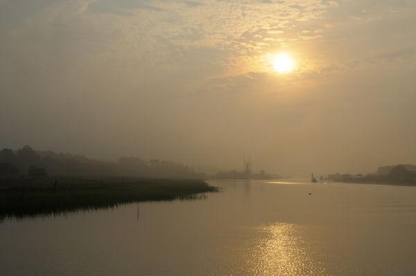 Morning Sunrise along the coast (1 of 2).