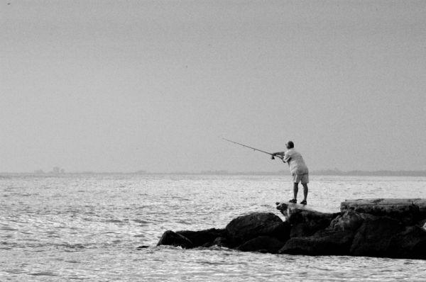 B&W Fisherman