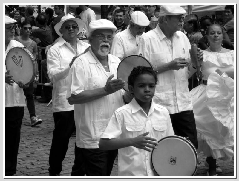 Dance Parade band....