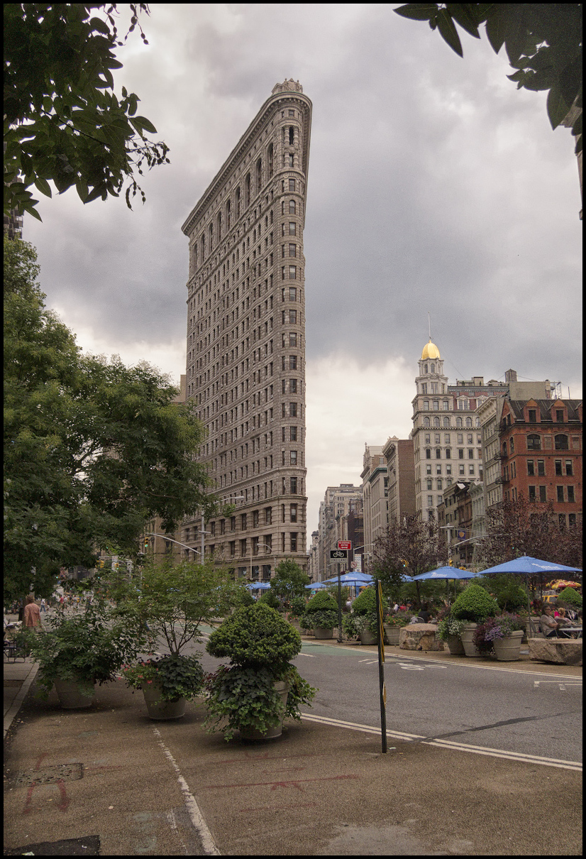 Flat Iron Building Manhattan