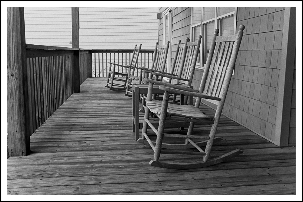 Rocking Chairs on the porch
