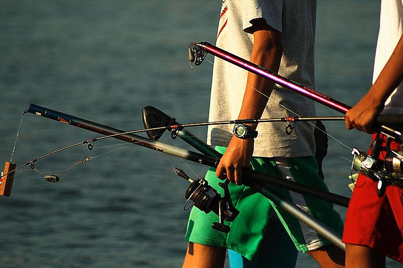Canyes de pescar