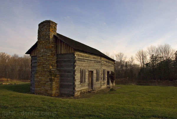 Abner Hollow Cabin, Rowe Woods, Cincinnati Nature