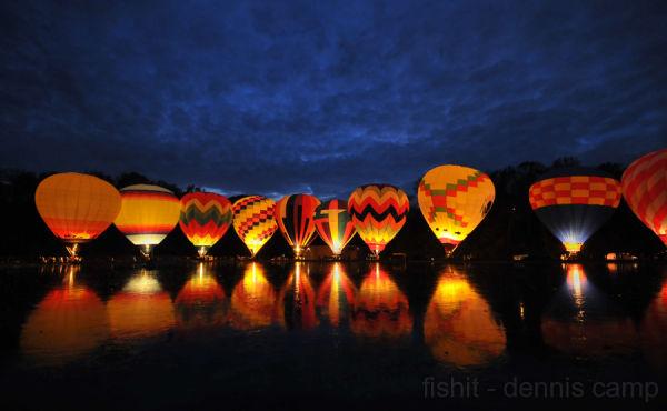 Balluminaria - Eden Park Balloon Glow