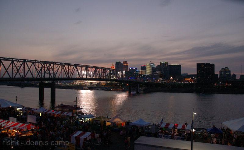 Cincinnati, Ohio Twilight