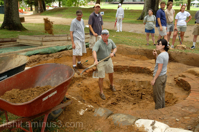 New Well Excavation Begins in 2006 at Jamestown