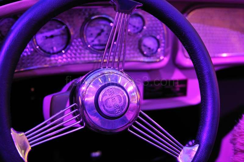 Purple Steering Wheel
