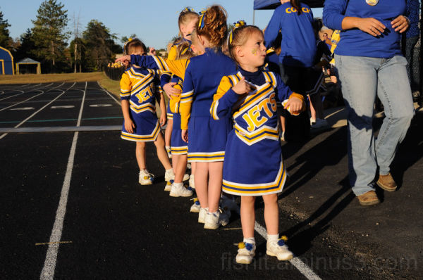 Mini Cheer Leaders