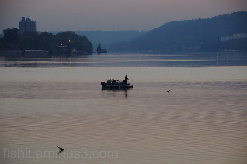 Dawn Fishing Ohio River