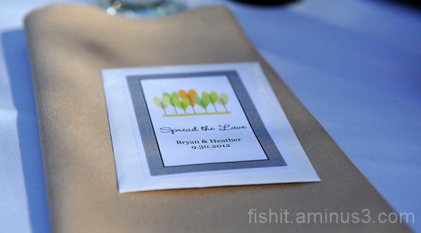 Napkin and Invitation