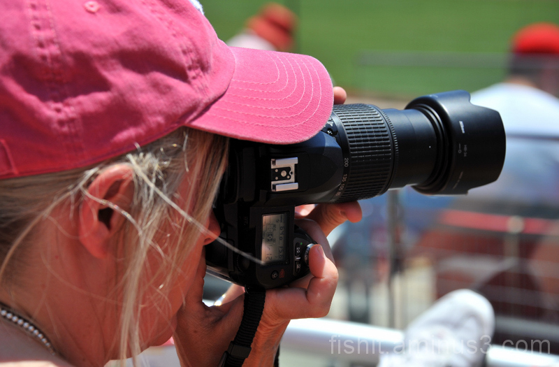 Reds Game Photographer