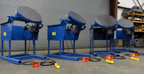 Gear Tilti Rotary Turntables for Welding