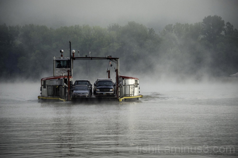 Ferry Crossing Ohio River