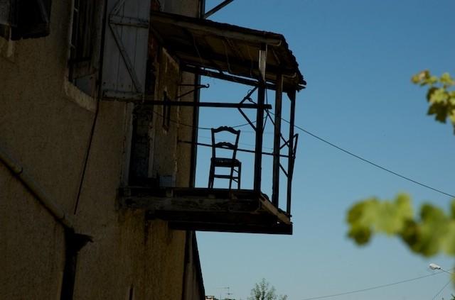 Hanging Balcony