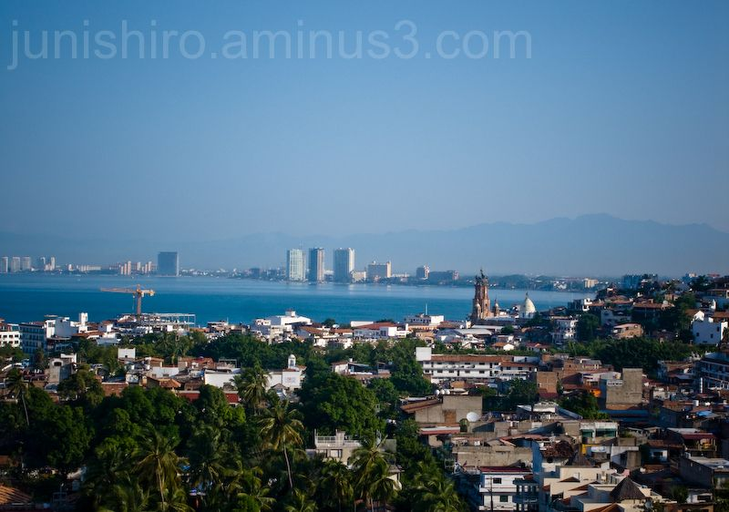 Puerto Vallarta Landscape bay view