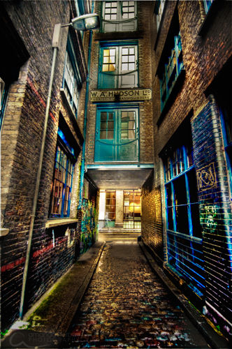 Backstreets of Shoreditch