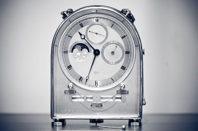 Parisian Carriage Clock 1890