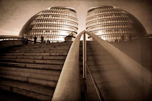 Reflected City Hall | London