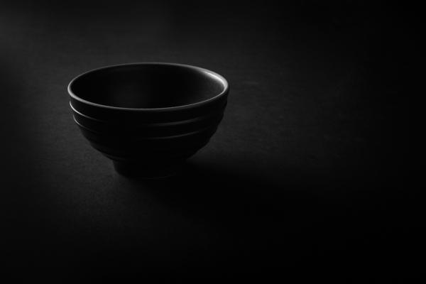 Bowl on Black