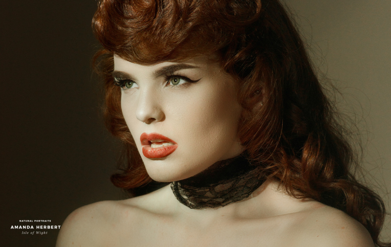 Miss Deadly Red   Amanda Herbert Photography