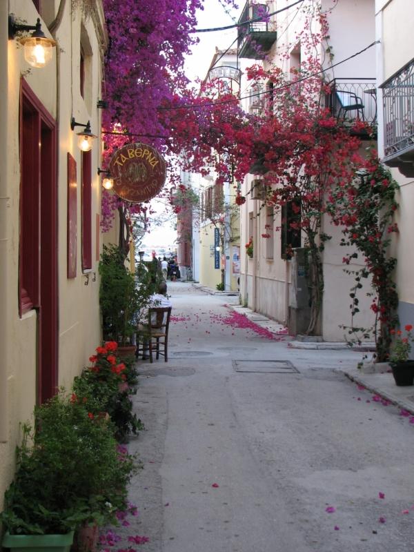 Taberna to Byzantio , Nafplio . Greece