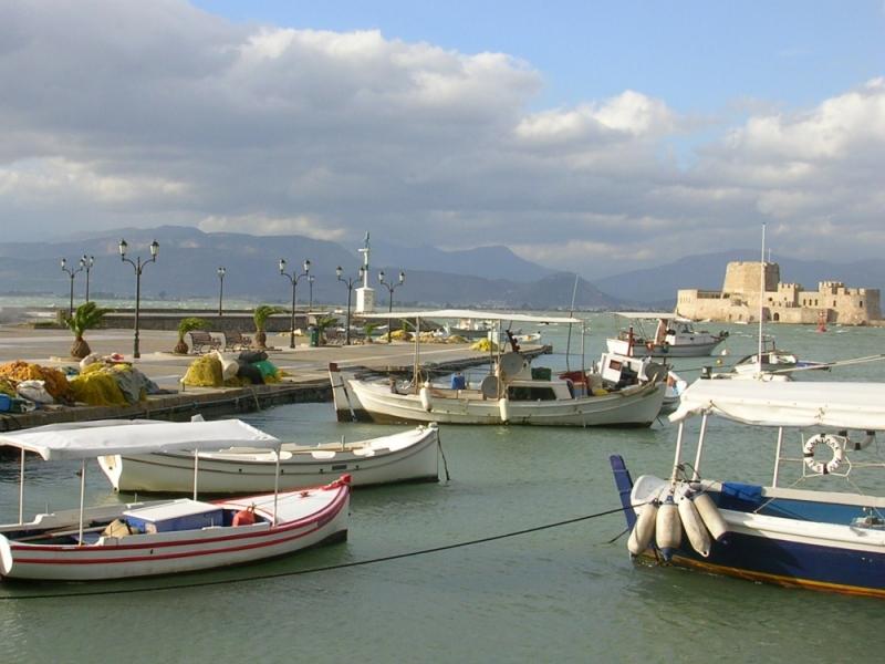Bourtzi , Nafplio . Greece.