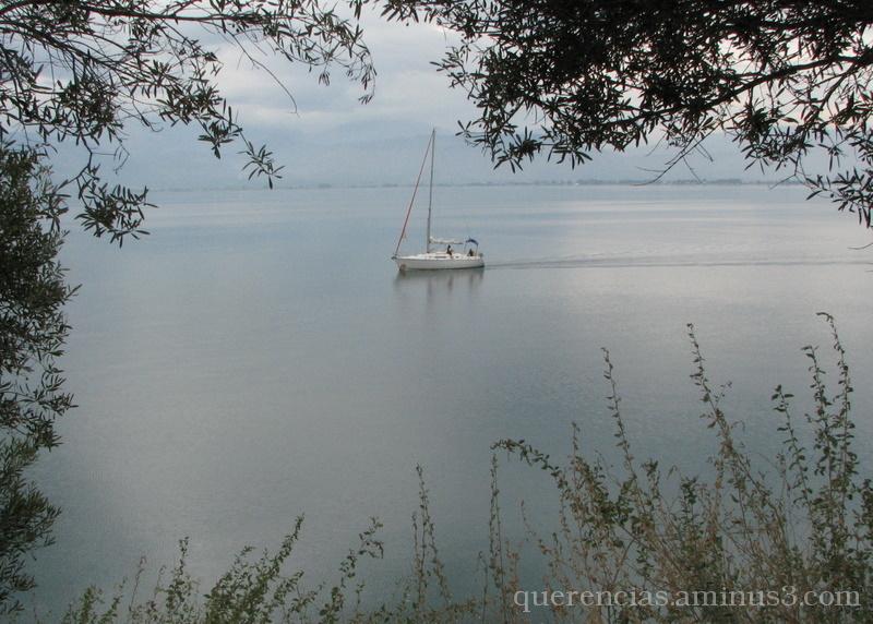 Sailing through the rain