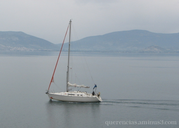 Sailing boat in Nafplio, Greece