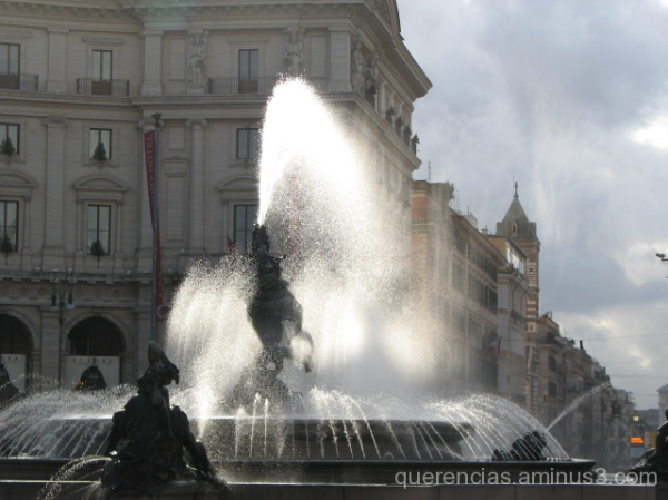 The Fountain of the Naiads , Rome