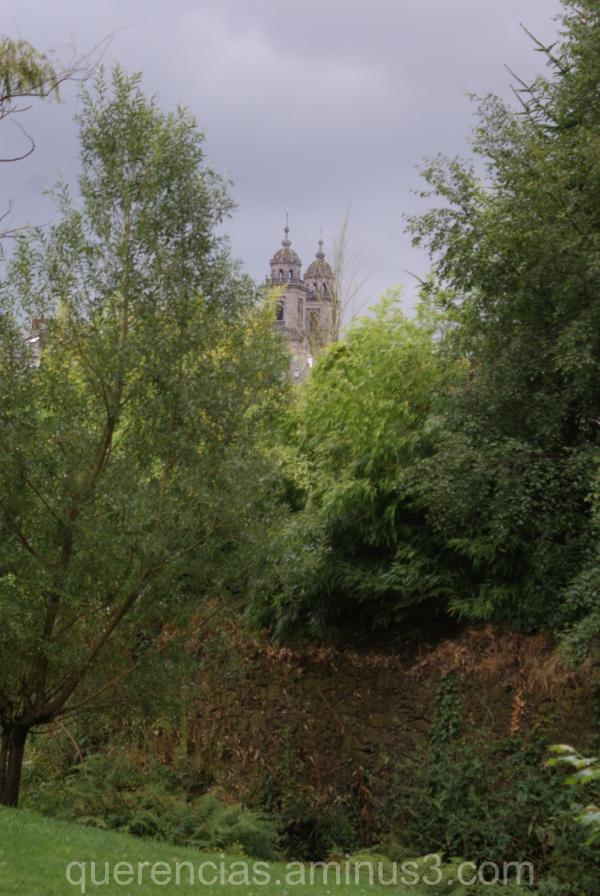 View from Santiago, La Coruña. Spain