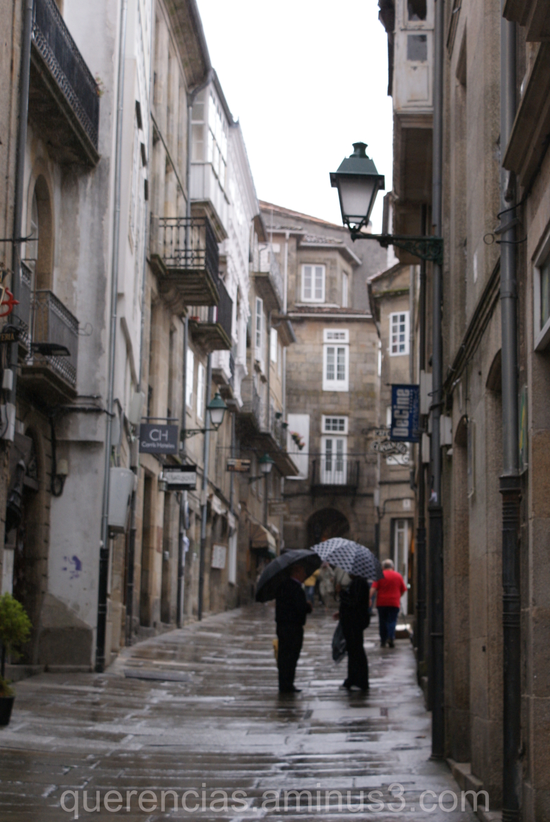 Street image of Santiago de Compostela.