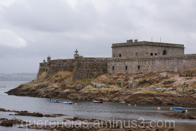 Castillo de San Antón, La Coruña. Spain