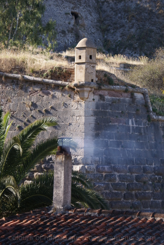Grimani Bastion, Nafplio. Greece